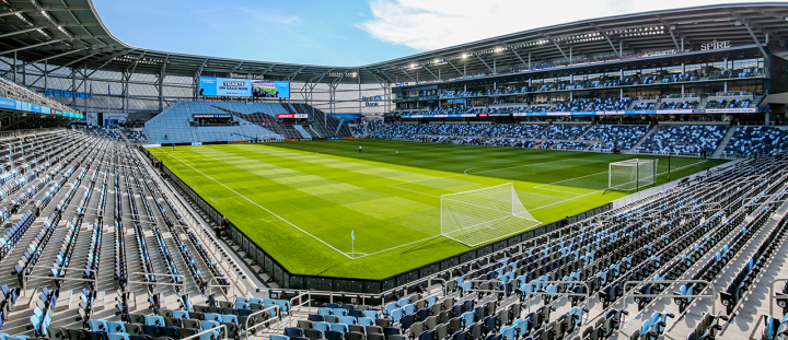 Allianz Field. Image courtesy of Minnesota United.
